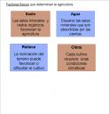FACTOREAS FISICOSAGRICULTURA
